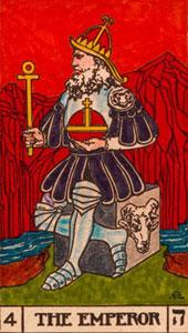 Resultado de imagem para the emperor tarot